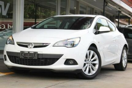 2015 Holden Astra PJ MY16 GTC White 6 Speed Automatic Hatchback Somerton Park Holdfast Bay Preview