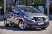 2015 Honda Jazz GF MY15 VTi Grey 1 Speed Constant Variable Hatchback Myaree Melville Area Preview