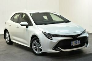 2018 Toyota Corolla Mzea12R Ascent Sport Crystal Pearl Continuous Variable Hatchback North Hobart Hobart City Preview