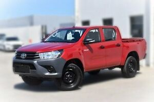 2015 Toyota Hilux GUN125R Workmate Double Cab Red 6 Speed Sports Automatic Utility Berwick Casey Area Preview