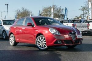 2012 Alfa Romeo Giulietta Series 0 MY12 Distinctive TCT JTD-M Burgundy 6 Speed Hoppers Crossing Wyndham Area Preview