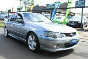 2004 Ford Falcon BA XR6 Turbo Silver 4 Speed Sports Automatic Sedan West Footscray Maribyrnong Area Preview