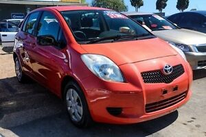 2007 Toyota Yaris NCP90R YR Bronze 5 Speed Manual Hatchback Colyton Penrith Area Preview