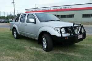 2011 Nissan Navara D40 S6 MY12 ST Silver 5 Speed Sports Automatic Utility Eagle Farm Brisbane North East Preview