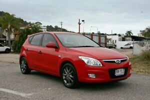2010 Hyundai i30 FD MY11 Trophy Red 5 Speed Manual Hatchback Townsville Townsville City Preview