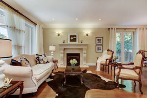 Remarkable Custom Home for Rent located bayview/Sheppard