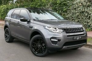 2016 Land Rover Discovery Sport L550 17MY TD4 150 HSE Grey 9 Speed Sports Automatic Wagon Parkside Unley Area Preview