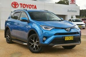 2017 Toyota RAV4 ASA44R GXL AWD Blue Gem 6 Speed Sports Automatic Wagon Wyong Wyong Area Preview