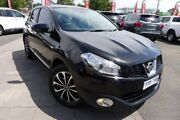 2012 Nissan Dualis J10W Series 3 MY12 Ti-L Hatch X-tronic 2WD Black 6 Speed Constant Variable Hoppers Crossing Wyndham Area Preview