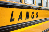 Now hiring SCHOOL BUS DRIVERS in Brantford and surrounding areas