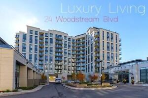 New 2 Bdrm-2 Bath-950qft-Low Rise Woodbridge Condo with Parking!
