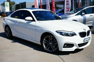 2018 BMW 2 Series F22 LCI 220i M Sport White 8 Speed Sports Automatic Coupe