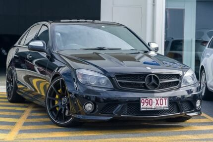 2008 Mercedes-Benz C63 W204 AMG Black 7 Speed Sports Automatic Sedan Tweed Heads South Tweed Heads Area Preview