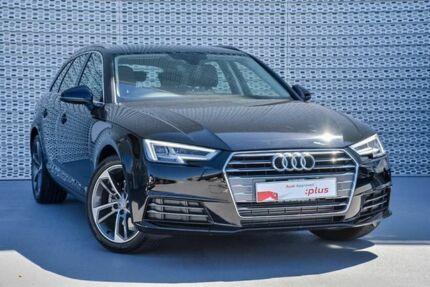 2016 Audi A4 B9 F4 MY16 sport Avant S tronic Brilliant Black 7 Speed Sports Automatic Dual Clutch