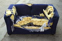 Ratty Old couch or Help Give Back