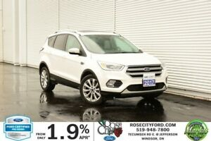 2017 Ford Escape Titanium / CERTIFIED / Backup Cam / Heated Leat