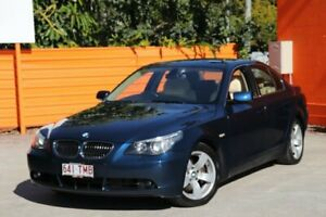 2007 BMW 540i E60 MY07 Steptronic Blue 6 Speed Sports Automatic Sedan Greenslopes Brisbane South West Preview