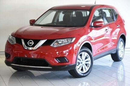 2014 Nissan X-Trail T32 ST X-tronic 4WD Red 7 Speed Constant Variable Wagon Southport Gold Coast City Preview