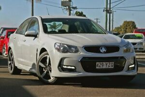2017 Holden Commodore VF II MY17 SV6 White 6 Speed Sports Automatic Sedan Gympie Gympie Area Preview