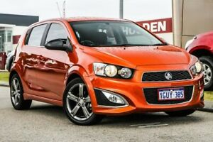 2014 Holden Barina TM MY14 RS Orange 6 Speed Sports Automatic Hatchback Rockingham Rockingham Area Preview
