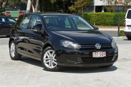 2011 Volkswagen Golf VI MY12 118TSI DSG Comfortline Deep Black 7 Speed Sports Automatic Dual Clutch Southport Gold Coast City Preview