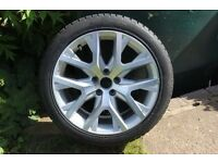 1 Original VW Passat 3C Alufelge 3AA601025S 8x18 ET40 Canyon EF1323 with Tyre
