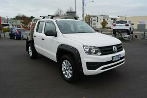 2017 Volkswagen Amarok 2H MY18 TDI420 4MOTION Perm Core White 8 Speed Automatic Cab Chassis Launceston Launceston Area Preview