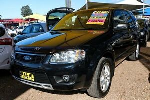 2009 Ford Territory SY Mkii TS RWD Black 4 Speed Sports Automatic Wagon Minchinbury Blacktown Area Preview
