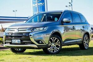 2015 Mitsubishi Outlander ZK MY16 XLS 2WD Grey 6 Speed Constant Variable Wagon Wangara Wanneroo Area Preview