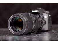 Sigma 50-100 f1.8 lens with filters