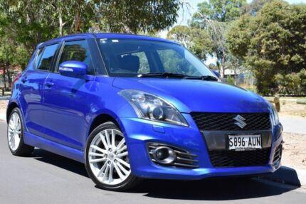 2012 Suzuki Swift FZ Sport Blue 7 Speed Constant Variable Hatchback St Marys Mitcham Area Preview