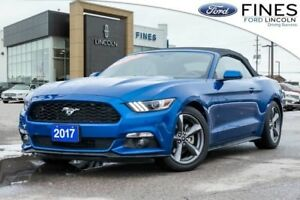 2017 Ford Mustang V6 - PREVIOUS RENTAL, CONVERTIBLE!
