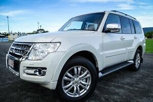 2014 Mitsubishi Pajero NX MY15 Exceed White 5 Speed Sports Automatic Wagon Parramatta Park Cairns City Preview