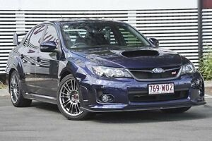 2013 Subaru Impreza G3 MY13 WRX STi AWD Spec R Blue 5 Speed Sports Automatic Sedan Mount Gravatt Brisbane South East Preview