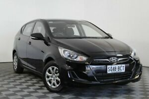 2014 Hyundai Accent RB2 Active Black 6 Speed Manual Hatchback