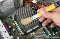 $40 Computer cleaning - repair - tuneups - upgrades -services