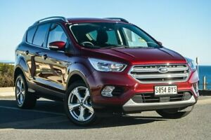 2018 Ford Escape ZG 2018.75MY Trend 2WD Red 6 Speed Sports Automatic Wagon Christies Beach Morphett Vale Area Preview