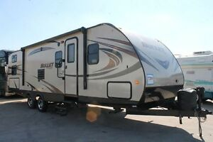 2015 Keystone Bullet 287QBS Travel Trailor