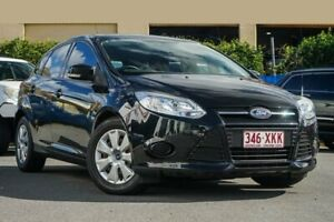 2012 Ford Focus LW Ambiente PwrShift Black 6 Speed Sports Automatic Dual Clutch Hatchback Chinderah Tweed Heads Area Preview