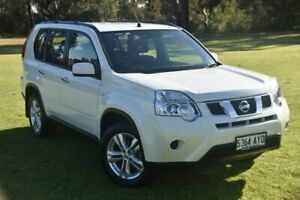 2013 Nissan X-Trail T31 Series V ST 2WD White 6 Speed Manual Wagon St Marys Mitcham Area Preview