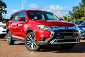 2019 Mitsubishi Outlander ZL MY19 ES AWD Red 6 Speed Constant Variable Wagon Cannington Canning Area Preview