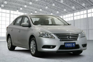 2013 Nissan Pulsar B17 ST-L Silver 1 Speed Constant Variable Sedan Victoria Park Victoria Park Area Preview
