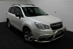 2014 Subaru Forester S4 MY14 2.5i Lineartronic AWD White 6 Speed Constant Variable Wagon Glenorchy Glenorchy Area Preview