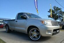 2005 Toyota Hilux GGN15R SR Silver 5 Speed Manual Utility Mulgrave Hawkesbury Area Preview