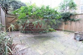 Huge apartment set over 1100sqft with private garden & decked terrace with direct views of the Oval