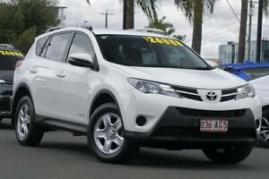 2015 Toyota RAV4 ALA49R MY14 GX AWD White 6 Speed Sports Automatic Wagon Upper Mount Gravatt Brisbane South East Preview