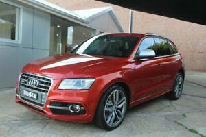 2013 Audi SQ5 8R MY14 TDI Tiptronic Quattro Red 8 Speed Sports Automatic Wagon