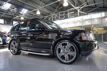 2008 Land Rover Range Rover MY08 Sport 4.2 S/C Java Black 6 Speed Sequential Auto Wagon Port Melbourne Port Phillip Preview