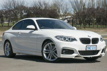 2015 BMW 228i F22 M Sport White 8 Speed Sports Automatic Coupe Pearce Woden Valley Preview