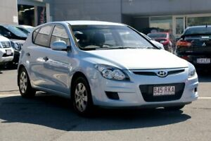 2011 Hyundai i30 FD MY11 SX Blue 4 Speed Automatic Hatchback Capalaba Brisbane South East Preview